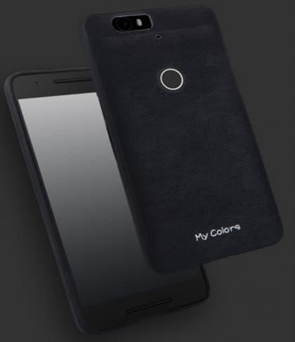 Tough Armor Color Leather Back Case for Nexus 6P