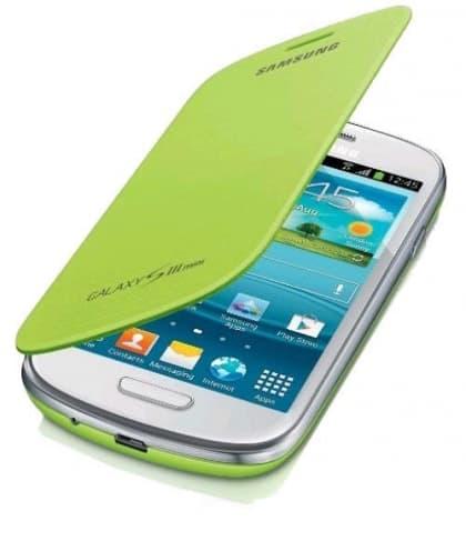 Samsung Galaxy S3 Mini Flip Cover Mint Green
