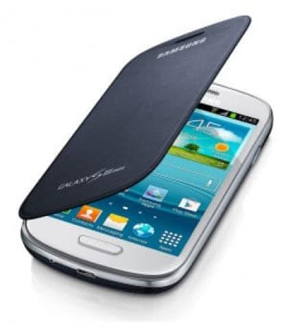 Samsung Galaxy S3 Mini Flip Cover Pebble Blue