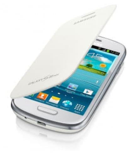 Samsung Galaxy S3 Mini Flip Cover White