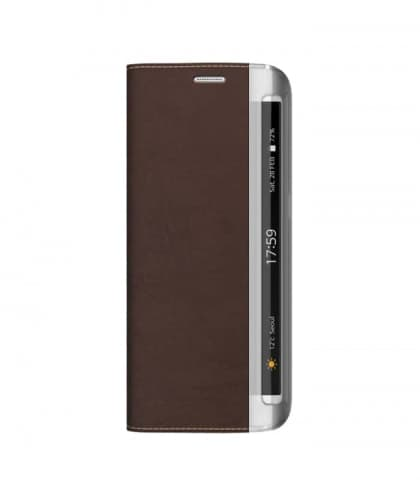 Zenus Buffalo Diary for Galaxy S6 Edge Brown
