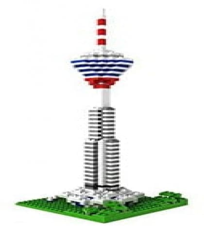 Loz Nano Block Architecture Series Kuala Lumpur Tower